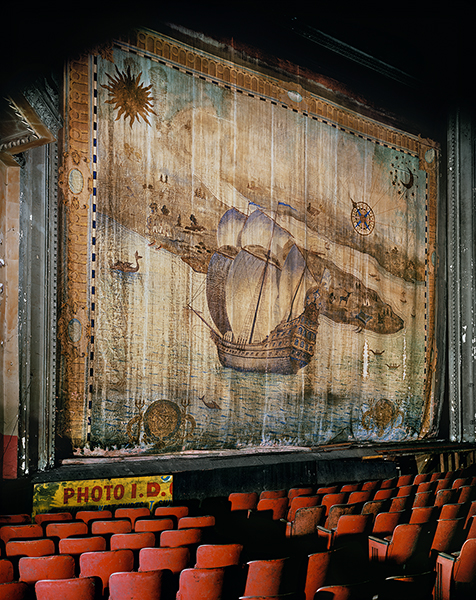 Fire Curtain, Liberty Theater